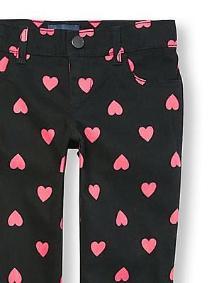 The Children's Place Girls Printed Woven Jeggings