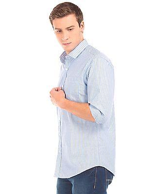 Excalibur Striped Classic Fit Shirt