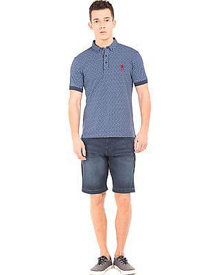 U.S. Polo Assn. Denim Co. Washed Slim Fit Denim Shorts