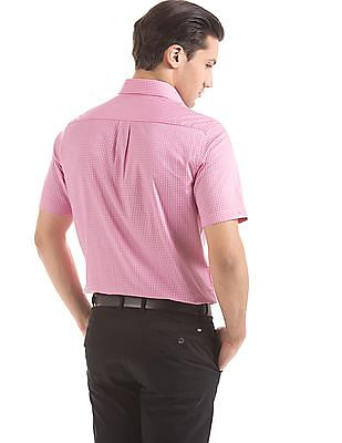 Arrow Gingham Regular Fit Shirt