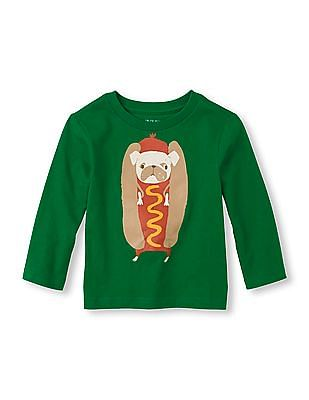 The Children's Place Baby Long Sleeve Graphic T-Shirt