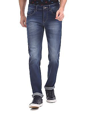 40ae955126c Flying Machine Jackson Skinny Fit Washed Jeans