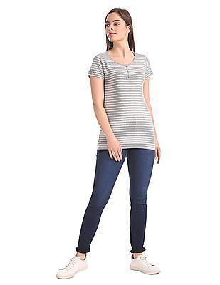 Newport Mid Rise Slim Fit Jeans