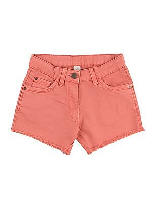 Cherokee Girls Slim Fit Denim Shorts