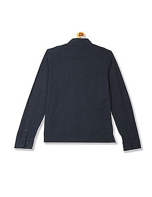 Gant Chest Pocket Pique Long Sleeve Rugger