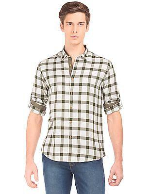 Cherokee Jacquard Checked Shirt