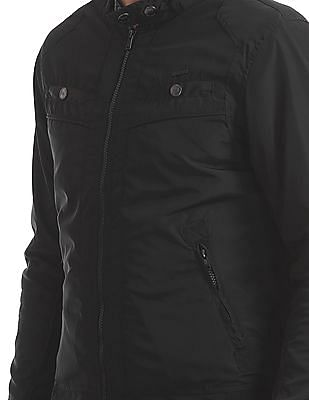 Flying Machine Panelled Solid Jacket