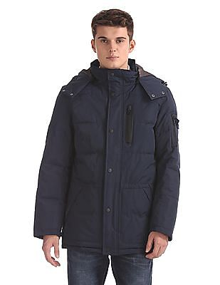 Nautica Solid Padded Jacket