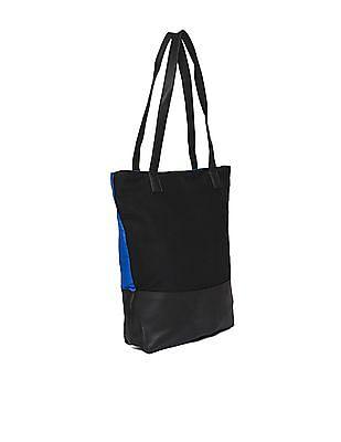 SUGR Printed Cotton Tote Bag