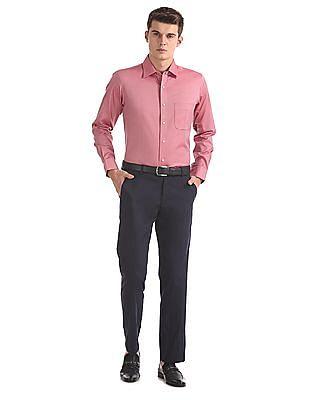 Arrow Stitchless Patterned Shirt