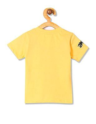 Donuts Boys Ribbed Neck Graphic T-Shirt