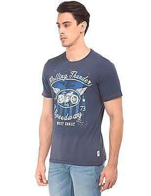 Cherokee Printed Slim Fit T-Shirt