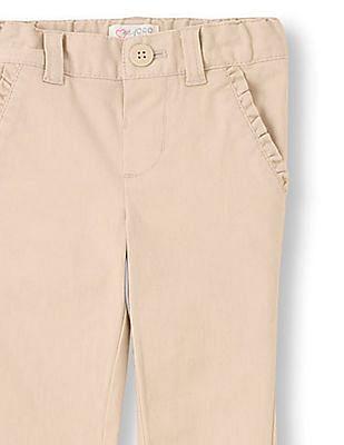 The Children's Place Girls Uniform Skinny Chino Pants