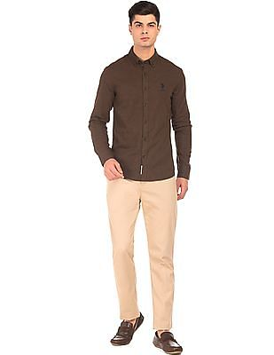 U.S. Polo Assn. Brushed Tailored Fit Shirt