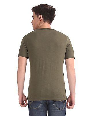Cherokee Heathered Short Sleeve T-Shirt
