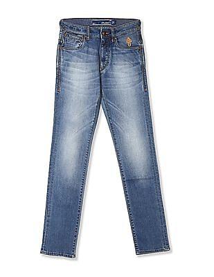 Flying Machine Prince Slim Fit Mid Waist Jeans