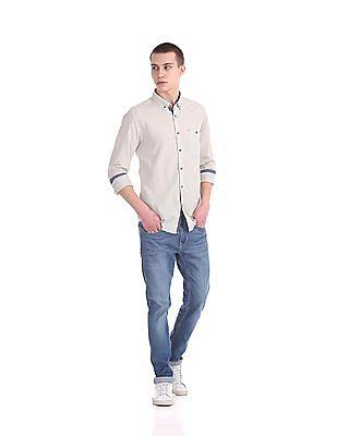 Cherokee Contemporary Regular Fit Striped Shirt