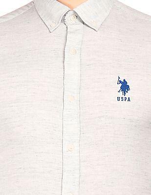 U.S. Polo Assn. Tailored Fit Button-Down Shirt