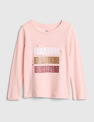 GAP Baby Graphic Long Sleeve T-Shirt