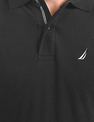 Nautica Solid Pique Polo Shirt