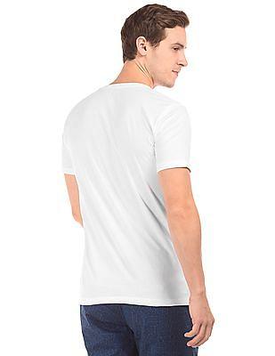 Colt Piano Print Cotton T-Shirt