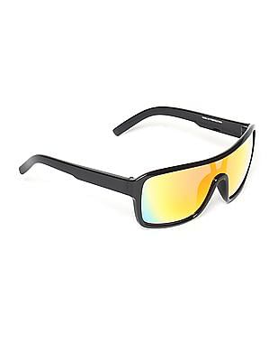 Flying Machine Tinted Wrap Sunglasses