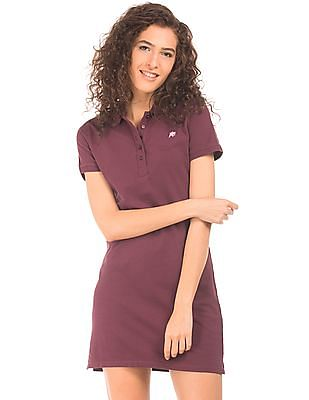 483aafdfe9a Buy Women Solid Pique T-Shirt Dress online at NNNOW.com