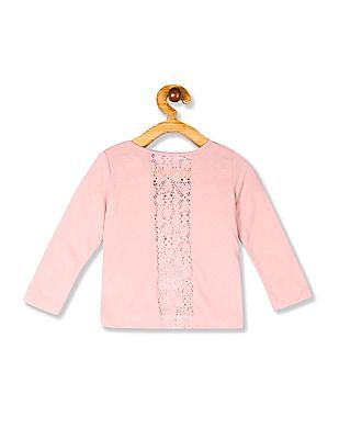 The Children's Place Toddler Girl Pink Long Sleeve Sequin Graphic T-Shirt
