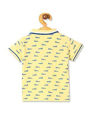 Donuts Boys Printed Polo Shirt