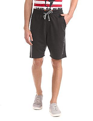 Colt Grey Drawstring Waist Knit Shorts