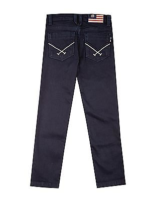 U.S. Polo Assn. Kids Boys Dark Wash Slim Fit Jeans