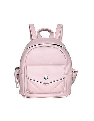 Aeropostale Pleather Mini Backpack