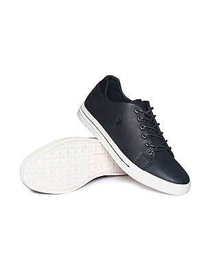 U.S. Polo Assn. Contrast Sole Round Toe Sneakers