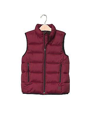 GAP Boys Cold Control Max Reflective Puffer Vest
