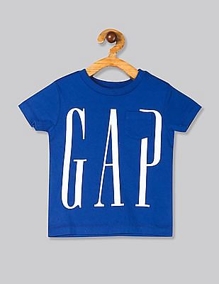 GAP Boys Blue 50Th Short Sleeve T-Shirt