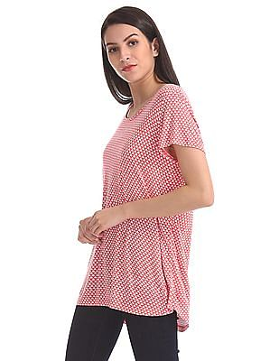 GAP Printed Short Sleeve Top