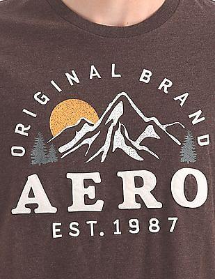 Aeropostale Regular Fit Round Neck T-Shirt