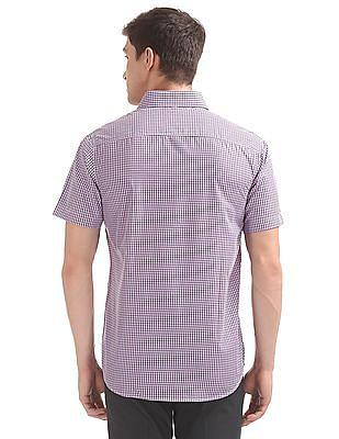 Excalibur Short Sleeve Check Shirt