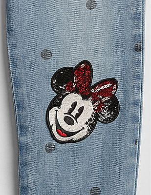 GAP Girls Disney Minnie Mouse Girlfriend Jeans