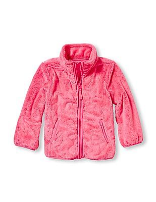 The Children's Place Toddler Girl Long Sleeve Solid Favourite Jacket