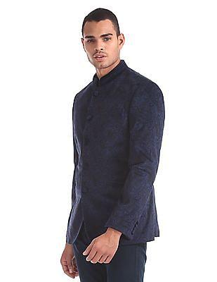 Arrow Body Tailored Regular Fit Paisley Print Blazer