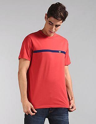 GAP Red Original Logo Crewneck T-Shirt