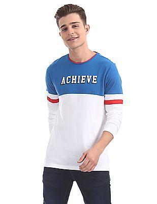 Colt Regular Fit Colour Block T-Shirt
