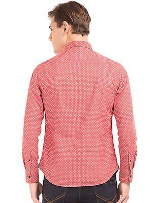 U.S. Polo Assn. Denim Co. Printed Button Down Shirt