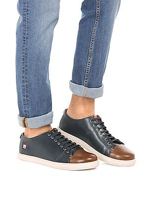 U.S. Polo Assn. Cap Toe Lace Up Sneakers