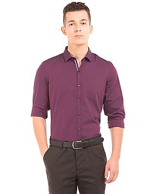 Elitus Two Tone Slim Fit Shirt