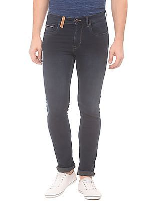 U.S. Polo Assn. Denim Co. Slim Tapered Fit Crinkled Jeans
