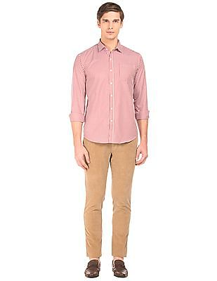 Ruggers Modern Fit Corduroy Trousers