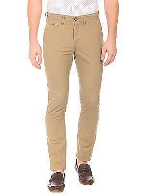 U.S. Polo Assn. Slim Fit Slub Weave Trousers