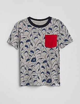 GAP Toddler Boy Graphic Pocket T-Shirt